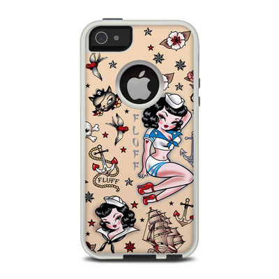 OtterBox Commuter iPhone 5 Case Skin - Suzy Sailor