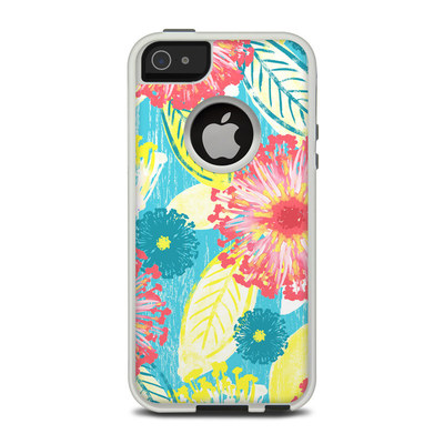 OtterBox Commuter iPhone 5 Case Skin - Tickled Peach