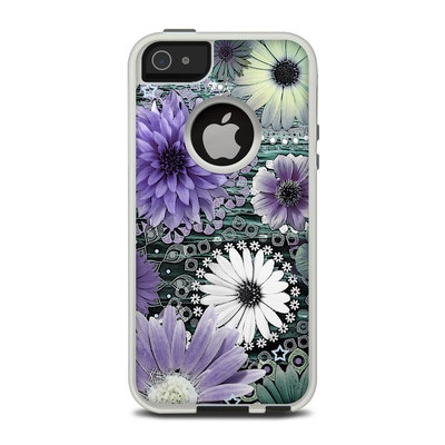 OtterBox Commuter iPhone 5 Case Skin - Tidal Bloom