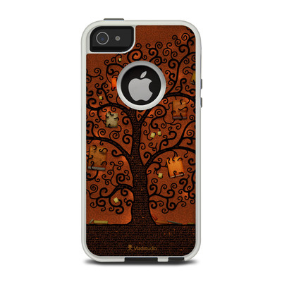 OtterBox Commuter iPhone 5 Case Skin - Tree Of Books