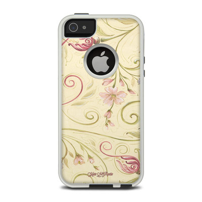 OtterBox Commuter iPhone 5 Case Skin - Tulip Scroll