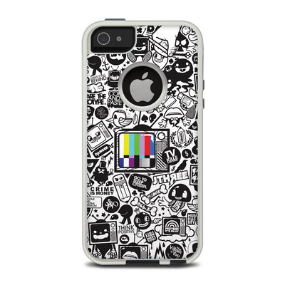 OtterBox Commuter iPhone 5 Case Skin - TV Kills Everything