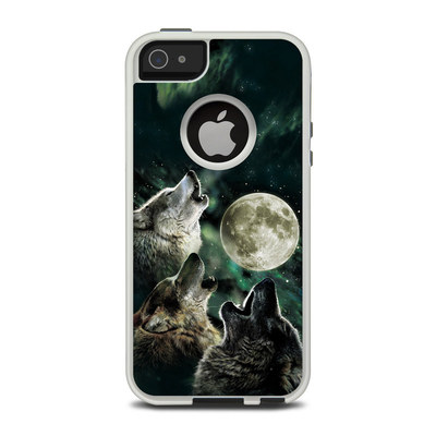 OtterBox Commuter iPhone 5 Case Skin - Three Wolf Moon
