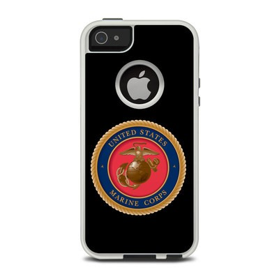 OtterBox Commuter iPhone 5 Case Skin - USMC Black