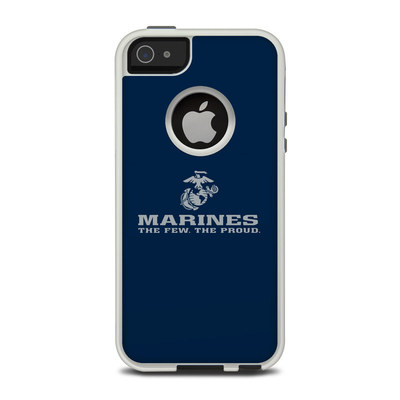 OtterBox Commuter iPhone 5 Case Skin - USMC Blue