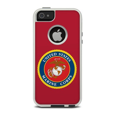 OtterBox Commuter iPhone 5 Case Skin - USMC Red