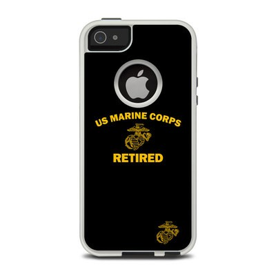 OtterBox Commuter iPhone 5 Case Skin - USMC Retired