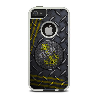 OtterBox Commuter iPhone 5 Case Skin - USN Diamond Plate