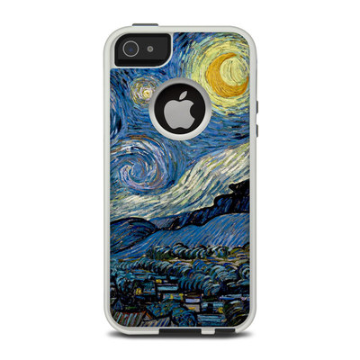 OtterBox Commuter iPhone 5 Case Skin - Starry Night