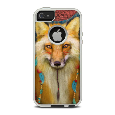 OtterBox Commuter iPhone 5 Case Skin - Wise Fox