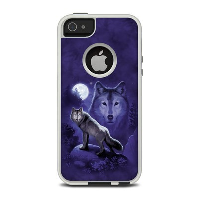 OtterBox Commuter iPhone 5 Case Skin - Wolf