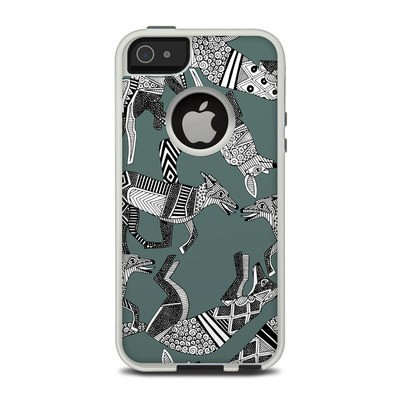 OtterBox Commuter iPhone 5 Case Skin - Woodland Fox
