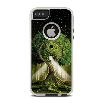 OtterBox Commuter iPhone 5 Case Skin - Yin Yang Tree