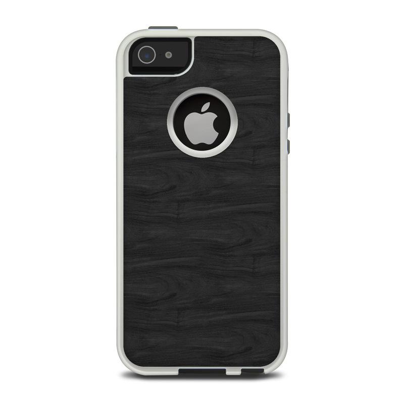 Case Design custom wood phone cases : OtterBox Commuter iPhone 5 Case Skin - Black Woodgrain : DecalGirl