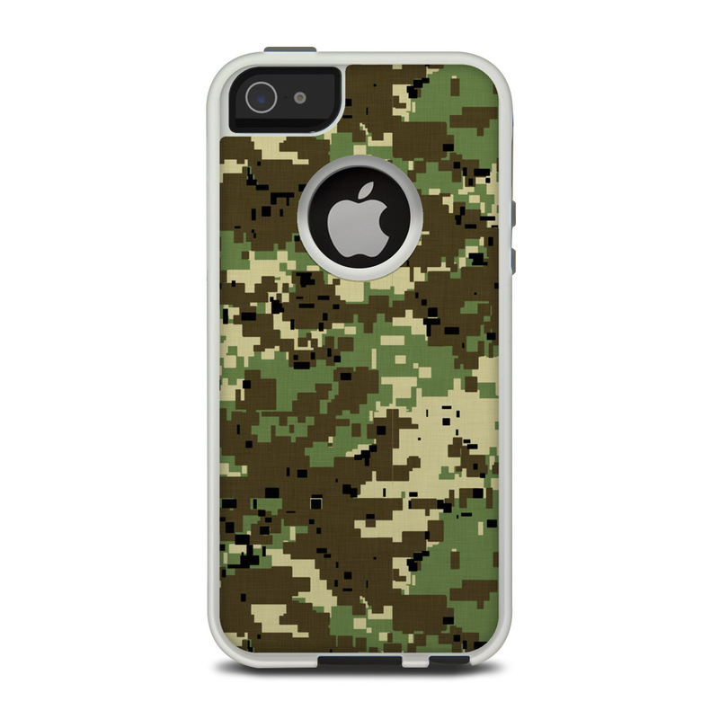 best loved ff33e 99f66 OtterBox Commuter iPhone 5 Case Skin - Digital Woodland Camo