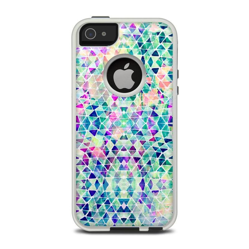 competitive price 057e2 e6247 OtterBox Commuter iPhone 5 Case Skin - Pastel Triangle
