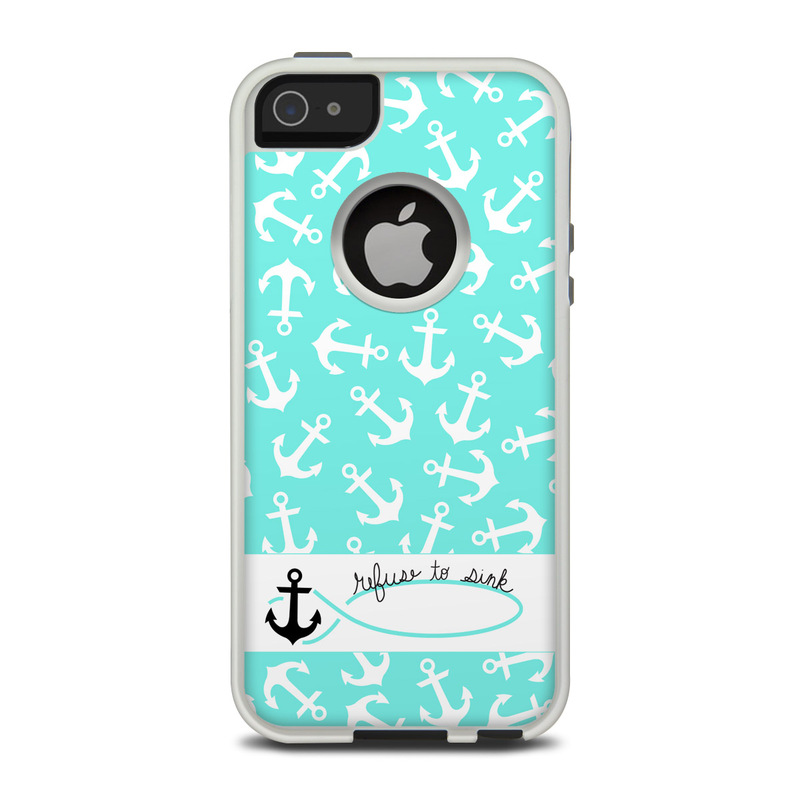 huge discount 47cf1 84078 OtterBox Commuter iPhone 5 Case Skin - Refuse to Sink