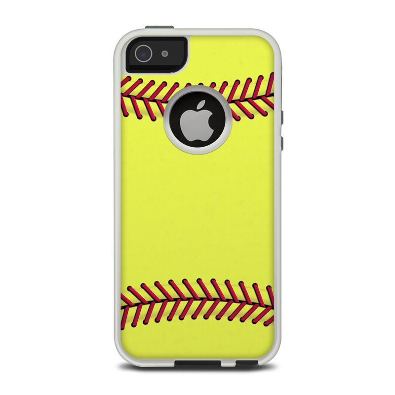 designer fashion e6989 255a2 OtterBox Commuter iPhone 5 Case Skin - Softball
