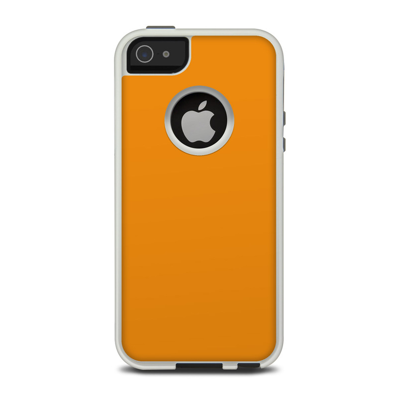 new concept e2cce d624a OtterBox Commuter iPhone 5 Case Skin - Solid State Orange
