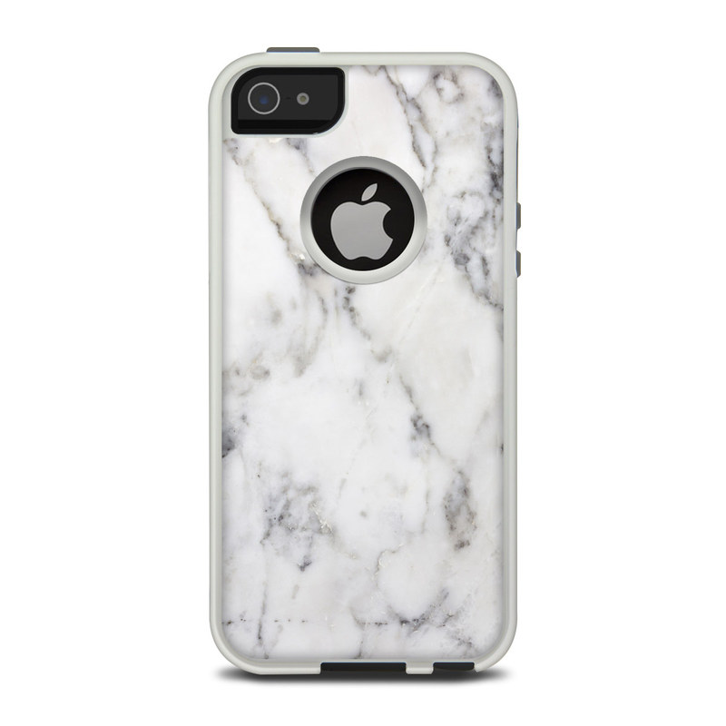 Otterbox Commuter Iphone 5 Case Skin White Marble By