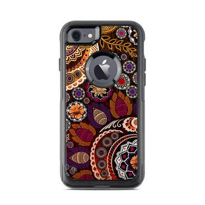 OtterBox Commuter iPhone 7 Case Skin - Autumn Mehndi