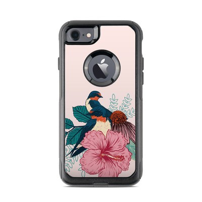 OtterBox Commuter iPhone 7 Case Skin - Barn Swallows