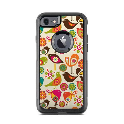 OtterBox Commuter iPhone 7 Case Skin - Bird Flowers