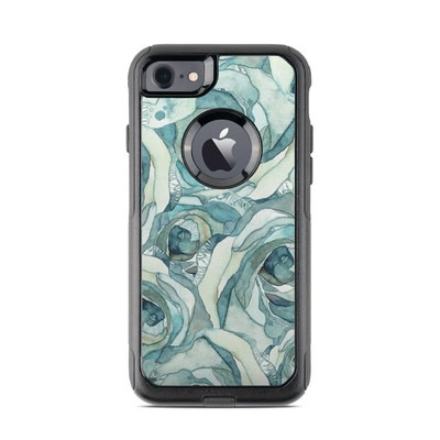 OtterBox Commuter iPhone 7 Case Skin - Bloom Beautiful Rose