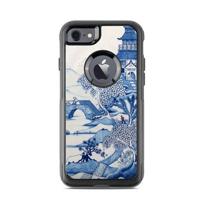 OtterBox Commuter iPhone 7 Case Skin - Blue Willow