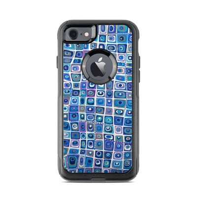 OtterBox Commuter iPhone 7 Case Skin - Blue Monday