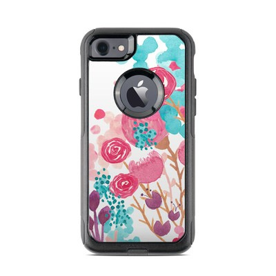 OtterBox Commuter iPhone 7 Case Skin - Blush Blossoms