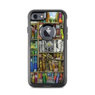 OtterBox Commuter iPhone 7 Case Skin - Bookshelf