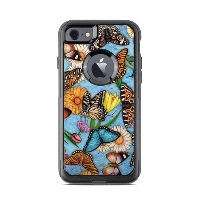 OtterBox Commuter iPhone 7 Case Skin - Butterfly Land