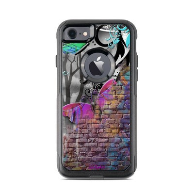 OtterBox Commuter iPhone 7 Case Skin - Butterfly Wall