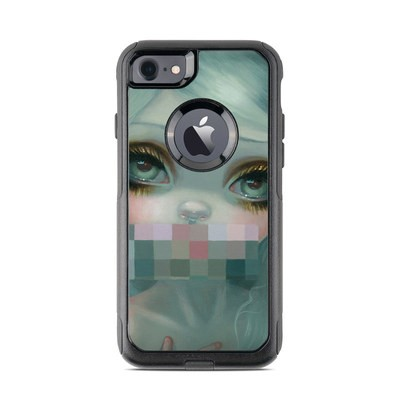OtterBox Commuter iPhone 7 Case Skin - Censored Smile