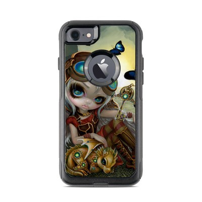 OtterBox Commuter iPhone 7 Case Skin - Clockwork Dragonling