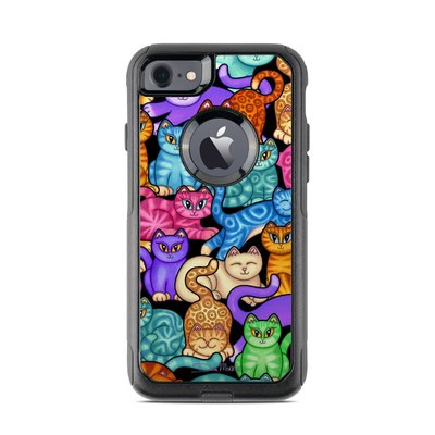 OtterBox Commuter iPhone 7 Case Skin - Colorful Kittens