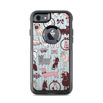 OtterBox Commuter iPhone 7 Case Skin - Doggy Boudoir
