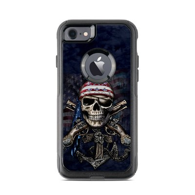 OtterBox Commuter iPhone 7 Case Skin - Dead Anchor