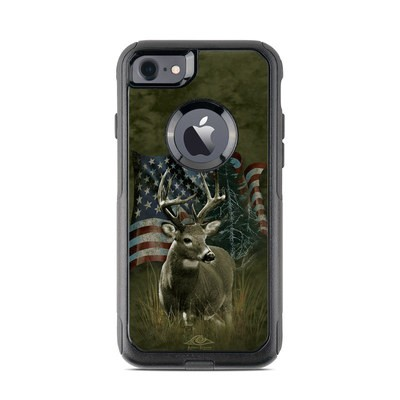 OtterBox Commuter iPhone 7 Case Skin - Deer Flag