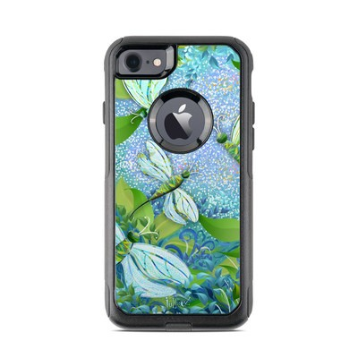 OtterBox Commuter iPhone 7 Case Skin - Dragonfly Fantasy