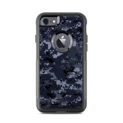 OtterBox Commuter iPhone 7 Case Skin - Digital Navy Camo