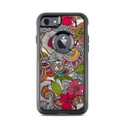OtterBox Commuter iPhone 7 Case Skin - Doodles Color