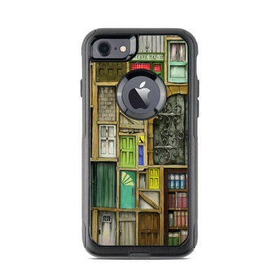 OtterBox Commuter iPhone 7 Case Skin - Doors Closed