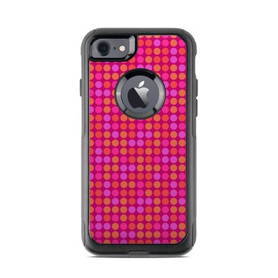 OtterBox Commuter iPhone 7 Case Skin - Dots Pink