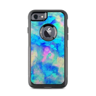 OtterBox Commuter iPhone 7 Case Skin - Electrify Ice Blue