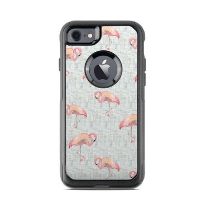 OtterBox Commuter iPhone 7 Case Skin - Flamingo Mosaic