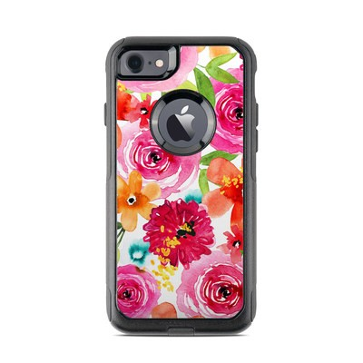 OtterBox Commuter iPhone 7 Case Skin - Floral Pop