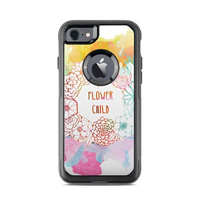 OtterBox Commuter iPhone 7 Case Skin - Flower Child