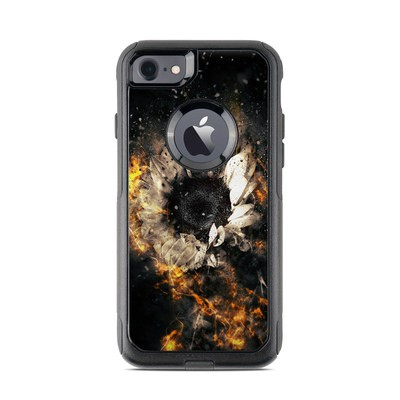 OtterBox Commuter iPhone 7 Case Skin - Flower Fury